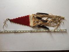 Replica Plateau style tomahawk drop, back view- unknown maker