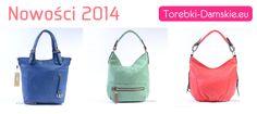 Torebki w nowych wersjach kolorystycznych na sezon 2014. Więcej zdjęć na http://torebki-damskie.eu