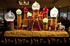 Gingerbread Village at the Sheraton Seattle Hotel