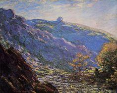 Soleil sur la Petite Creuse - Claude Monet. GéoCulture, le Limousin vu par les artistes