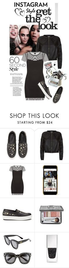 """""""60-Second Style: Insta-Ready"""" by shortyluv718 ❤ liked on Polyvore featuring McQ by Alexander McQueen, Pinko, Dolce&Gabbana, Christian Dior, Gucci, Givenchy and 60secondstyle"""