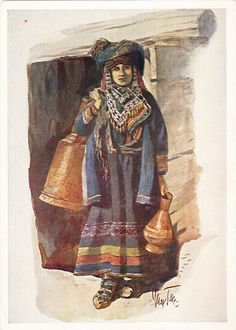 Georgians, A Khevsur Woman
