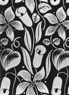 Art deco fabric pattern - Les Cornets   Dufy, Raoul   V&A Search the Collections