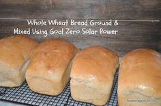 How To Make Whole Wheat Bread Using Solar Power | Food Storage Moms | #prepbloggers #bread #recipe