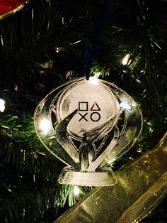 Platinum Trophy Ornament