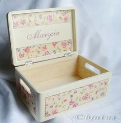 decoupage Toy Chest, Storage Chest, Decoupage, Decorative Boxes, Toys, Crates, Activity Toys, Clearance Toys, Gaming