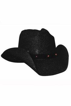 Bullhide After Party Black Straw Cowboy Hat 6189872c0069