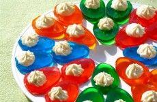 Jello Easter Eggs with Vanilla Filling-1