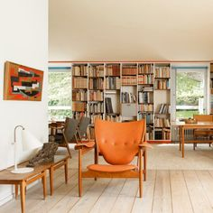 Finn Juhl built his home in 1942. The then 30-year-old  built his house with the inheritance from his father.
