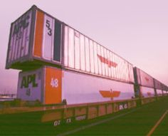 "Seaton's team develops ""stacktrain"" technology, an innovation that doubles train capacity by stacking containers, two high, on specially designed railcars. The final piece of the intermodal equation, the stacktrain results in the precise integration of domestic and international shipments."