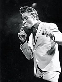 """Jackie Wilson./ What I loved was his singing a song no one's re-made: """"To Be Loved"""""""
