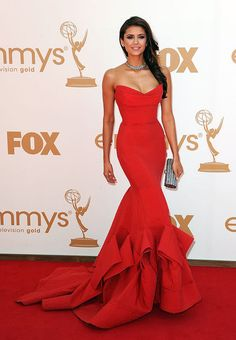 Nina Dobrev at the 2011 Emmy Awards... PERFECTION