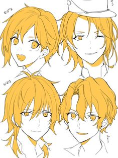New drawing anime character design hair reference ideas Drawing Male Hair, Guy Drawing, Character Drawing, Anime Drawings Sketches, Anime Sketch, Drawing Reference Poses, Hair Reference, Manga Drawing Tutorials, Poses References