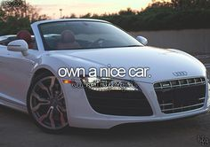 bucket list for girls. CLICK the PICTURE or check out my BLOG for more: http://automobilevehiclequotes.tumblr.com/#1506282231  This dream car could be yours if you just follow these steps