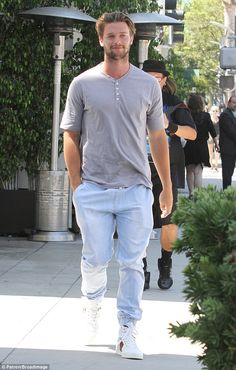 Patrick Schwarzenegger steps out for lunch in Beverly Hills