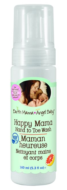 Earth Mama Angel Baby - Happy Mama Hand to Toe Wash from Gentle Nest