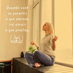 Deixe a lei da atração funcionar! #atração #equilíbrio #reflexão #quote