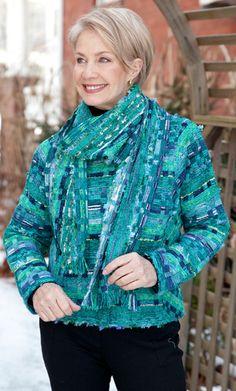 LucilleCrighton 13 GreensScarf