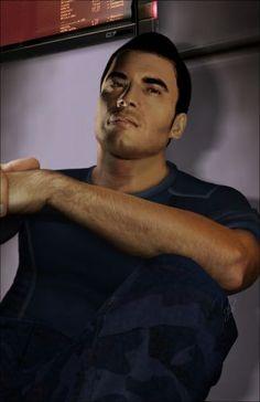 Kaidan Alenko.. Mass Effect 3. He's awesome.