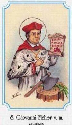 S. John Fisher e S. Thomas More - 22 giugno