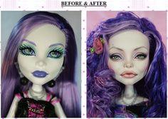 Basically, people buy these dolls and redo them. Badass. I want one.