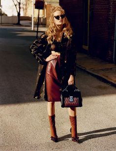 """Dreaming of Dior: """"Cry Baby"""" Anna Ewers by Alasdair McLellan for i-D Magazine June 2015"""