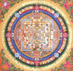 Gardenofthefareast The Kalachakra Mandala Sacred Geometry 3