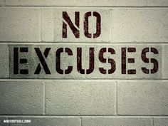 The Best Motivation Video 2015 - EXCUSES. I finally got this 6 months ago. It's a choice, period. NO EXCUSES! Have a wonderful weekend. It's your choice. From my heart. Good Motivation, Training Motivation, Workout Motivation, Workout Quotes, Workout Fitness, Fitness Goals, Fitness Tips, Sport Motivation, Football Motivation