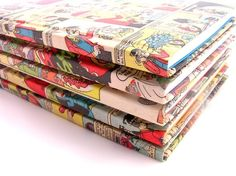 Hey, I found this really awesome Etsy listing at https://www.etsy.com/listing/59037389/comic-covered-notebook
