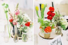 Table flowers, all white ofcourse ;)