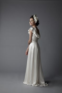 Classic, beautiful, simple & comfortable.  I love gowns.