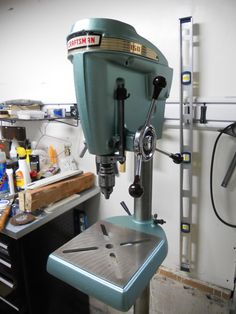 Craftsman - King Seeley floor model drill press