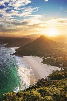 Zenith Beach, Tomaree Head Shoal Bay  NSW  AUSTRALIA