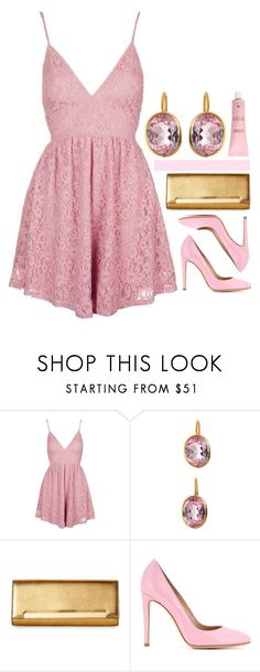 """Preadored 29"" by emilypondng ❤ liked on Polyvore featuring Topshop, Yves Saint Laurent, Gianvito Rossi and PreAdored"