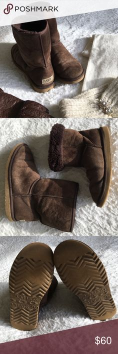 Spotted while shopping on Poshmark: Authentic Classic Short Brown UGG Boots! #poshmark #fashion #shopping #style #UGG #Shoes
