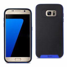 Reiko Samsung Galaxy S7 Protector Cover Black Blue