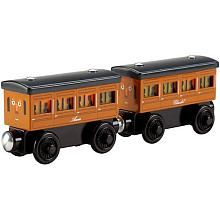 FisherPrice Thomas  Friends Wooden Railway LightUp Reveal Annie  Clarabel