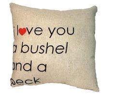 Pillow #lovemom #mothersday #cutegift