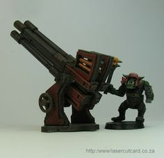 Leave no mini unpainted: Quad Gun