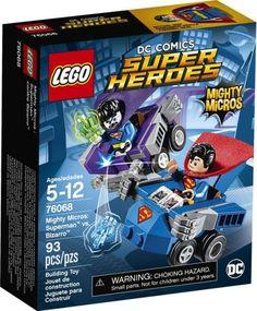 76068 LEGO Super Heroes Mighty Micros: Superman vs. Bizarro