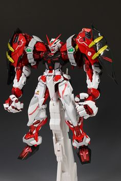 FULL REVIEW! METAL BUILD 1/100 (GUNDAM ASTRAY RED FRAME) POWERED RED and 150 GERBERA STRAIGHT (POWER): A Lot of Images   GUNJAP