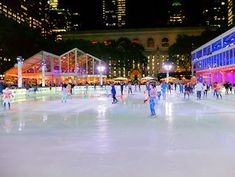 Patinoires à New York - Bryant Park Rink