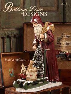 Bethany Lowe Designs Vintage Christmas