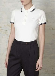 £50 Fred Perry Women's Twin Tipped Shirt