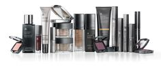 Arbonne Cosmetics - was going to do these one at a time, but heck, I use 'em all: #7-17 (primer, foundation - liq or powder, bronzer, blush, eyeliner, mascara, 2-4 eyeshadows, lip polish or lipstick).