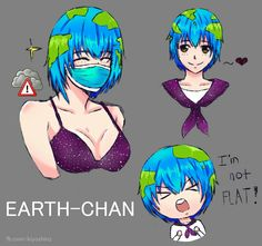 fan art of the one and only earth~chan. Space Anime, Adventure Time Girls, Accel World, Anime Galaxy, Space Girl, Anime Version, Anime Furry, Popular Anime, Image Macro