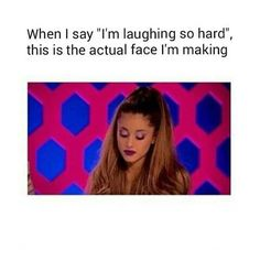 Image via We Heart It #funny #lol #text #arianagrande