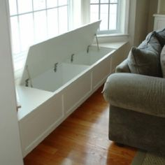 Window seat Great use of space