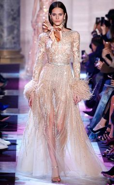 Elie Saab from Paris Haute Couture Fashion Week Spring 2018