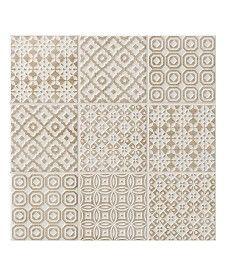 Batik Patchwork Beige Tile